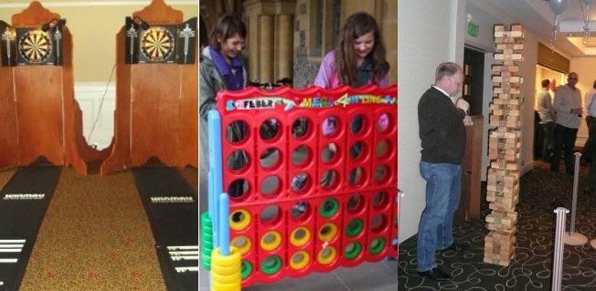 Exhibition Stand Entertainment : Pub style indoor games for hire sp events