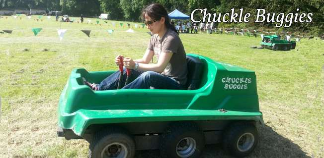 Exhibition Stand Attractions And Games Ideas : Hilarious chuckle buggy driving games for special events