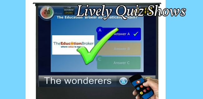 Quiz shows ideas . . . ?